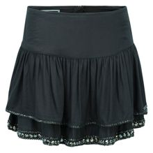 Tiered Embellished Skirt