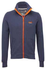 Orange label track top