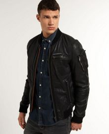 Marksman Casual Leather Jacket