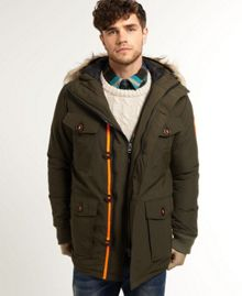 Military everest coat