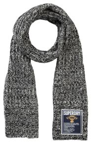 Superdry Super Cable Plain Scarf
