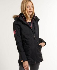 Pop Zip Wind Parka