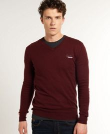 Superdry Orange label v-neck