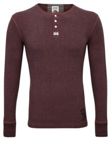 Heritage Plain Crew Neck Grandad Top