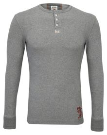Superdry Heritage Plain Crew Neck Grandad Top
