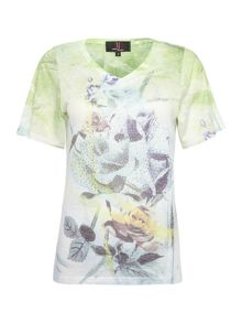 Simon Jeffrey Printed Short Sleeved T-Shirt