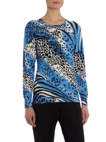 Animal Printed Jumper