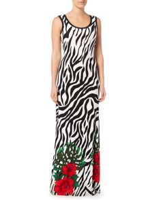 Simon Jeffrey Printed Maxi Dress