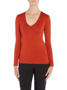 Simon Jeffrey V Neck top