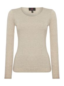 Simon Jeffrey Round Neck Top