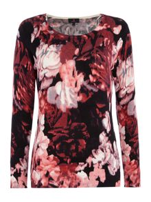 Simon Jeffrey Floral Printed jumper