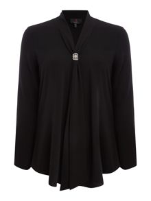 Simon Jeffrey Loose Fit Blouse