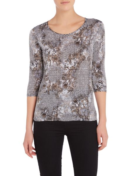 Simon Jeffrey Printed Top