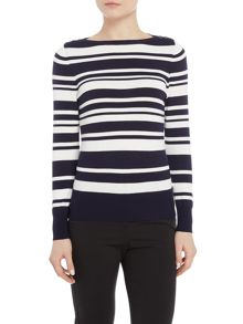 Simon Jeffrey Stripe Jumper