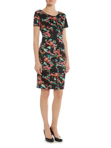 Simon Jeffrey Fitted Dress