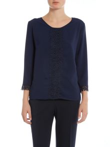 Simon Jeffrey Round Neck Blouse