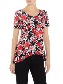 Simon Jeffrey Floral Printed Top
