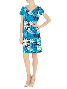 Simon Jeffrey Printed Shift Dress