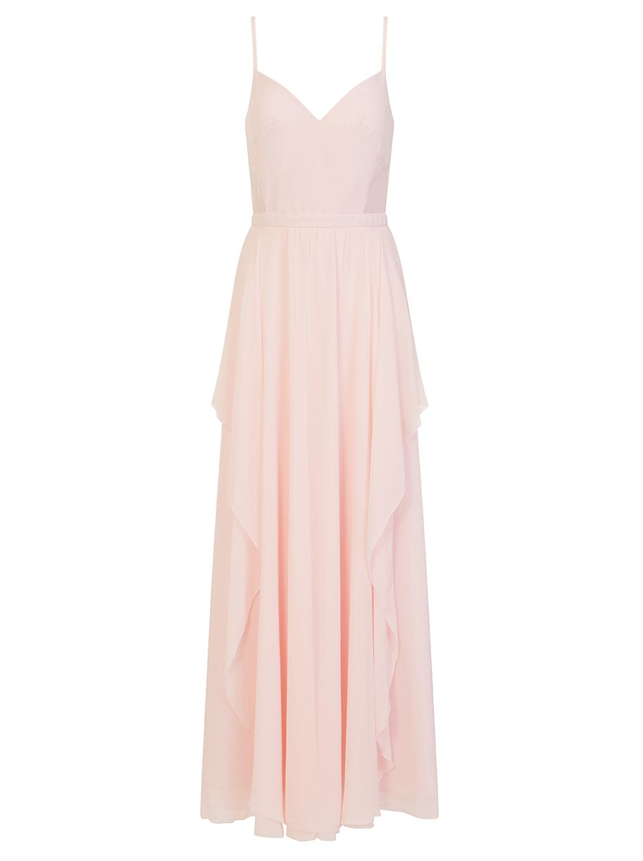 Chi Chi London Layered Maxi Dress, Pink