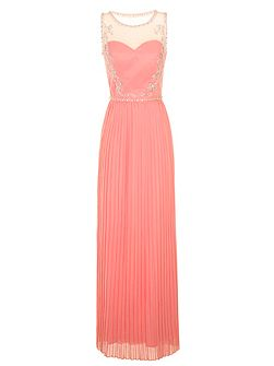 Embelished Maxi Dress