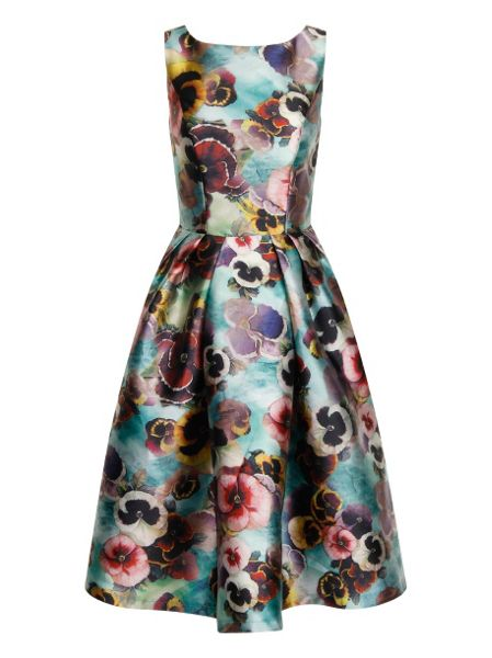 Floral Print Midi Dress £57.99 by Chi Chi London at House of Fraser