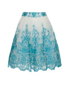 Baroque Midi Skirt