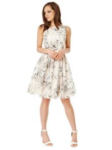 Organza Overlay Dress