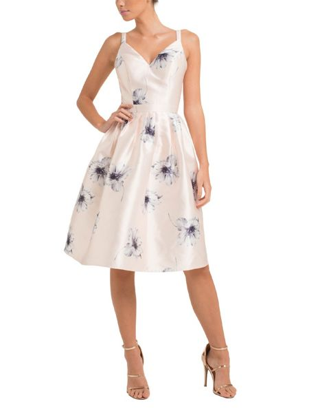 Chi Chi London Sweetheart Neckline Midi Dress