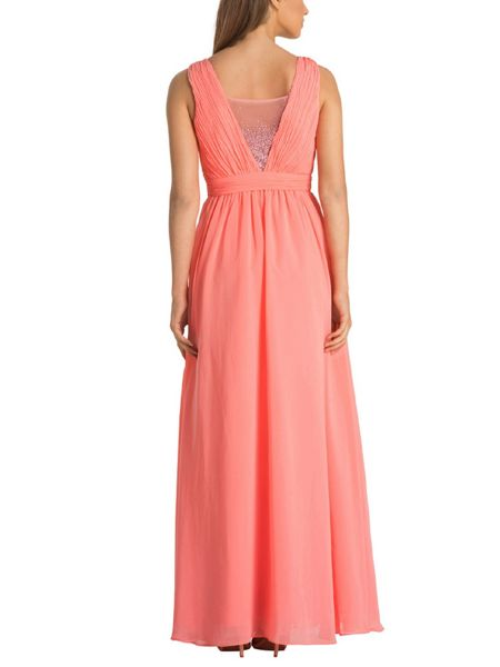 Chi Chi London Beaded Panel Maxi Dress