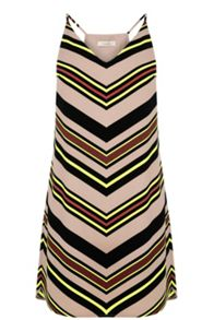 Oasis Chevron Stripe Cami Dress