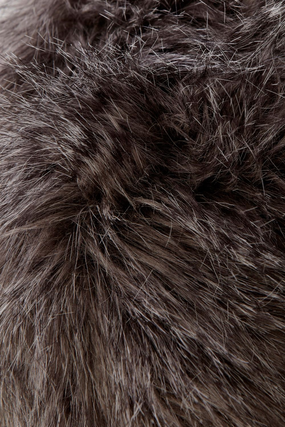 Faux fur cossack