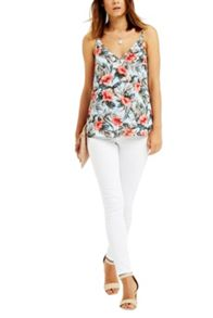 Oasis Tropical V Neck Cami