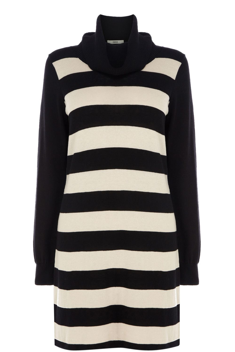 Stripe tunic polo