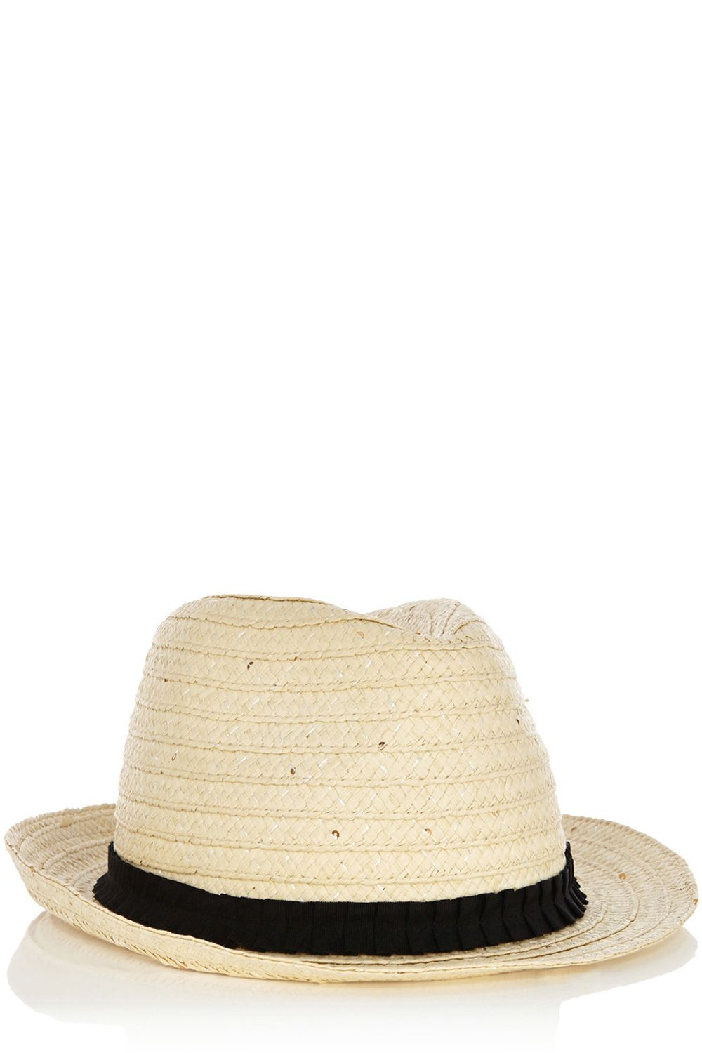 Classic trilby hat