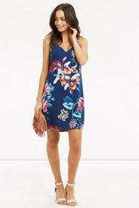 Oasis Tropical Placement Cami Dress