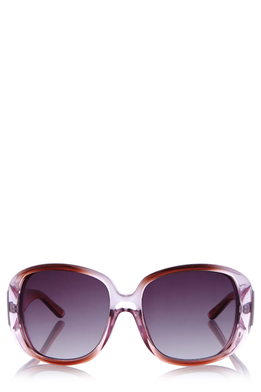 Medium round plastic sunglasses