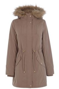 Bella fur lined parka