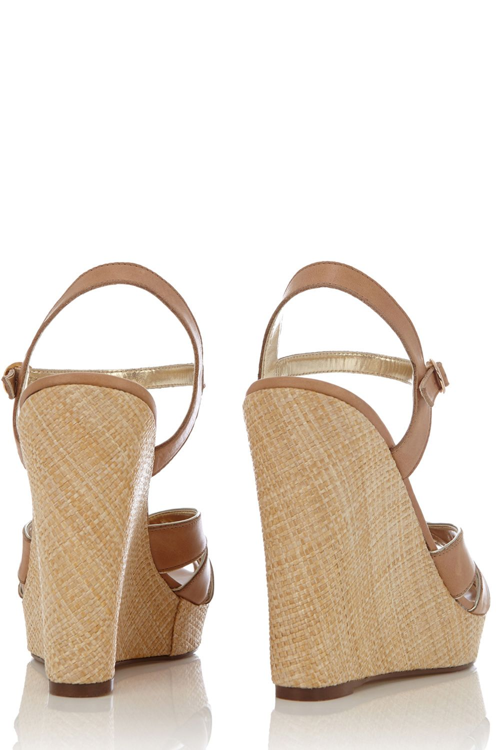 Tara tea dance textured wedges