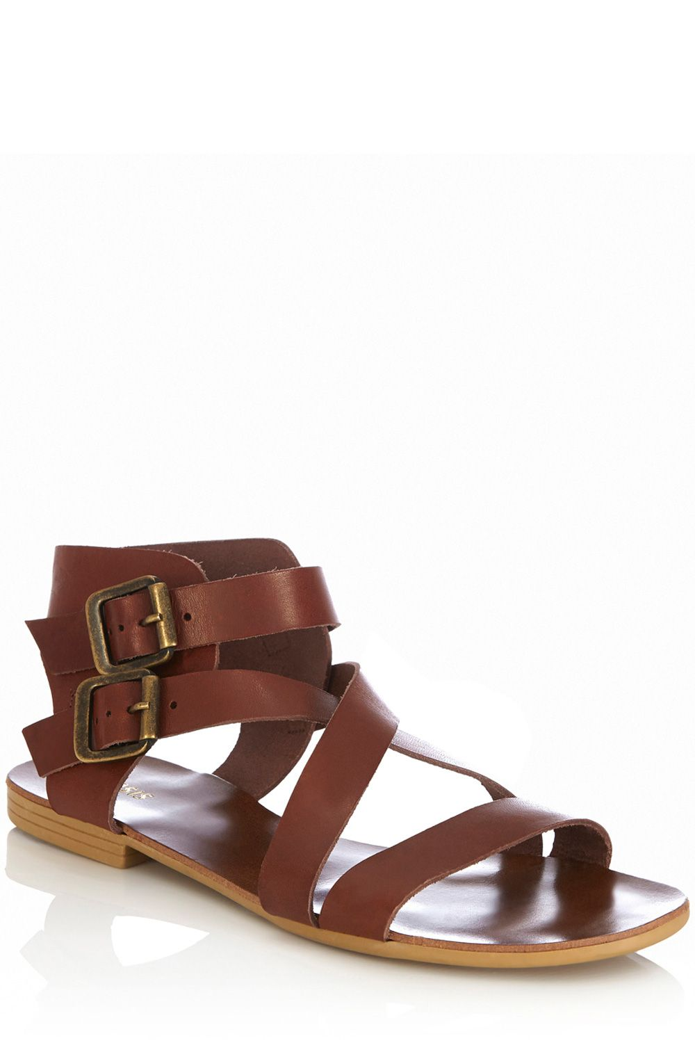 Ava strappy leather sandals