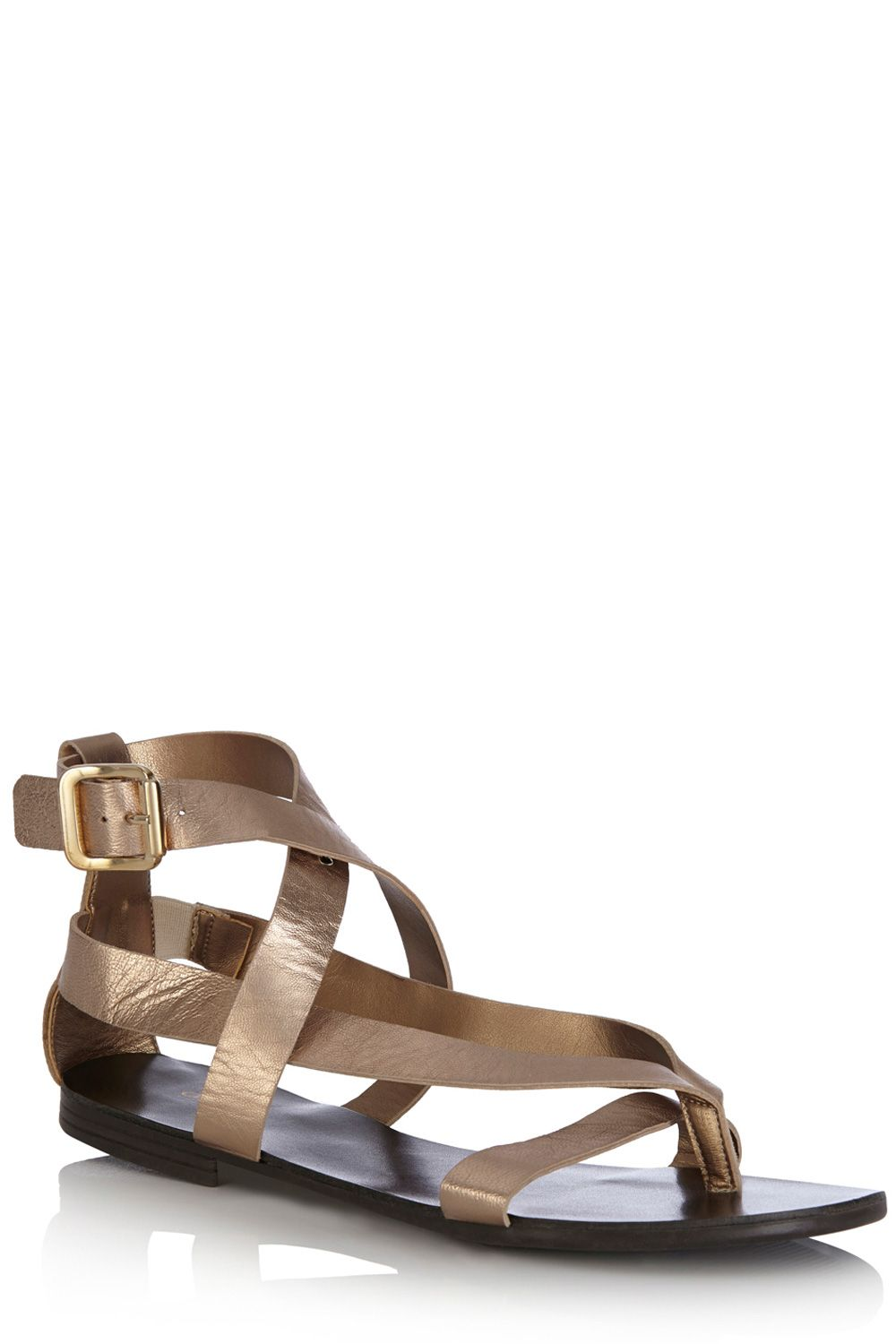 Isla strappy leather sandals