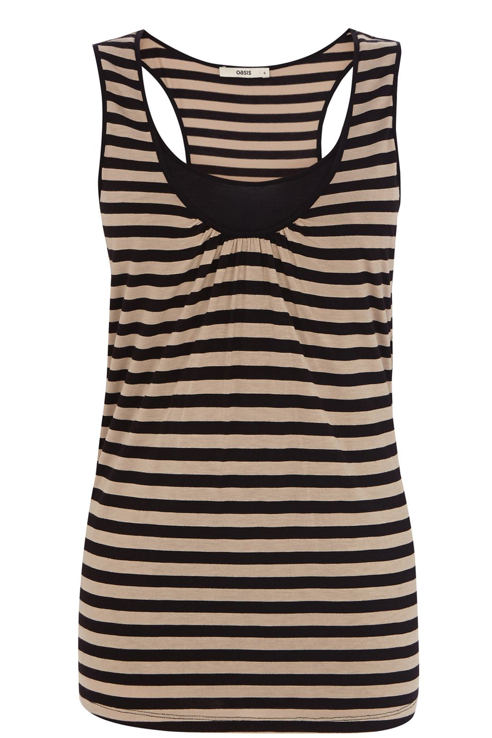 Stripe ll double layer vest top