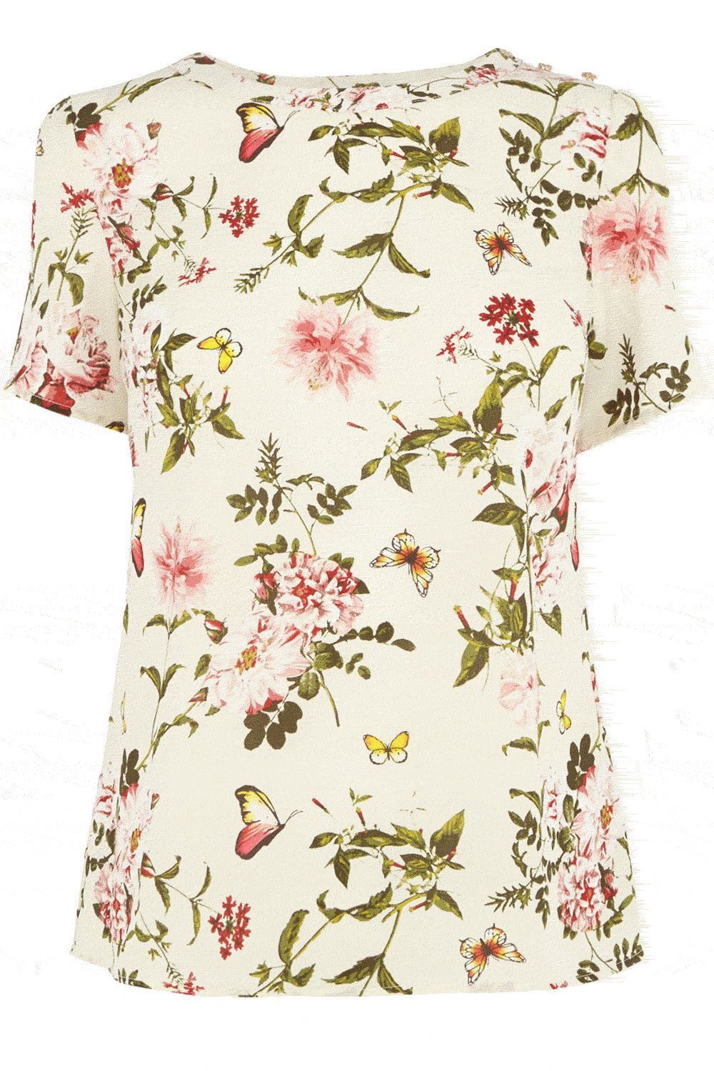 Beautiful floral tshirt