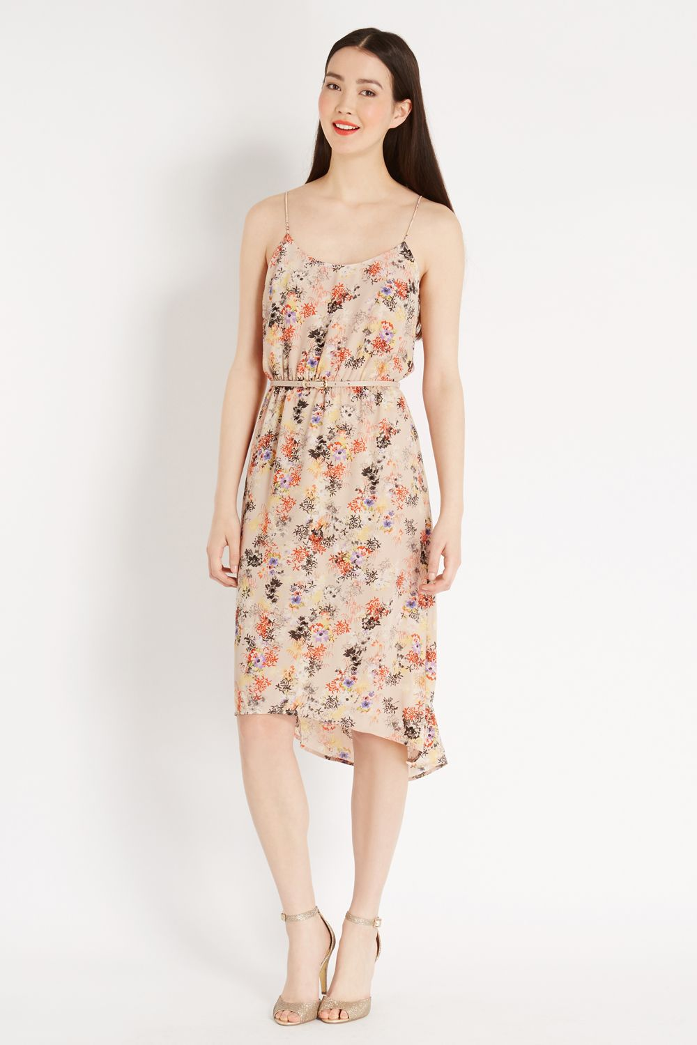 Bonsai cami midi dress
