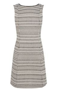 Tribal jacquard dress