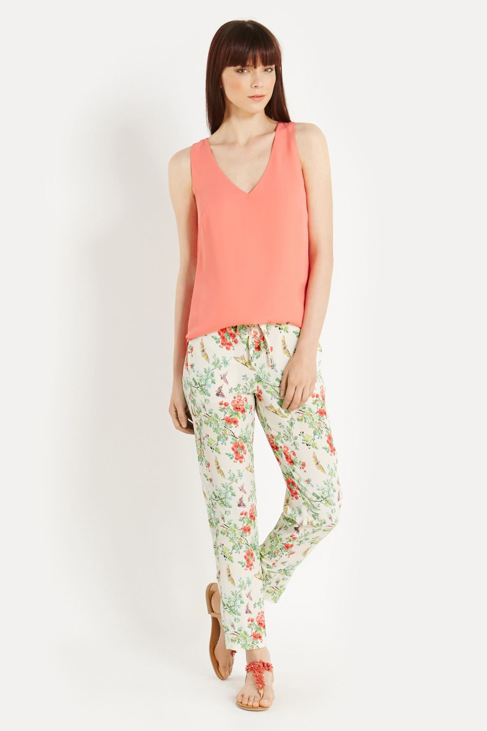 Butterfly soft trousers