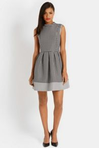 Clover Jacquard Dress