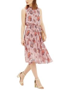 Oasis Goddess Tie Neck Dress
