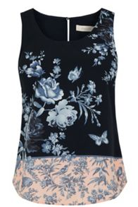 Oasis Placement Floral Vest