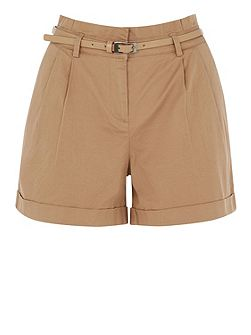 Casual Belted Short