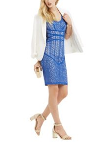 Oasis Piped Lace Dress